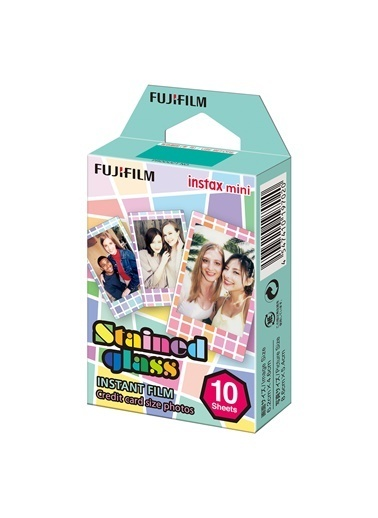 Fujifilm Instax Mini Stained Glass 1 10'lu Film Renkli